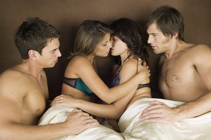 What are the pros and cons of group sex?