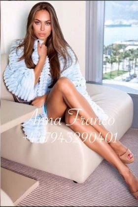 Russian escort Anna Franco ()